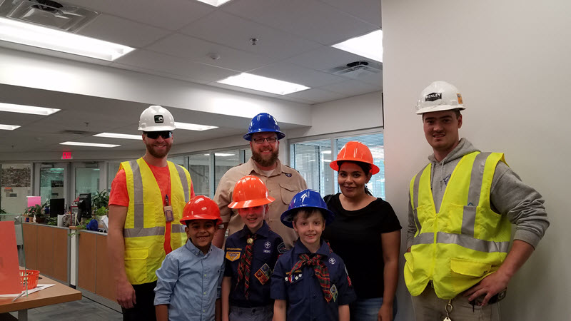 scouts visit West Springfield
