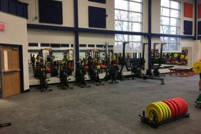 image of weight training room